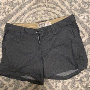 Burton gray shorts